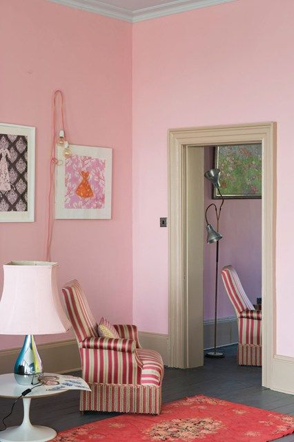 Nancy\'s Blushes - Wall Paint - Decorating Ideas (houseandgarden.co ...