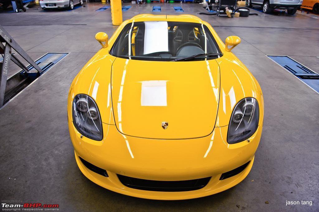 Porsche Fayence Yellow