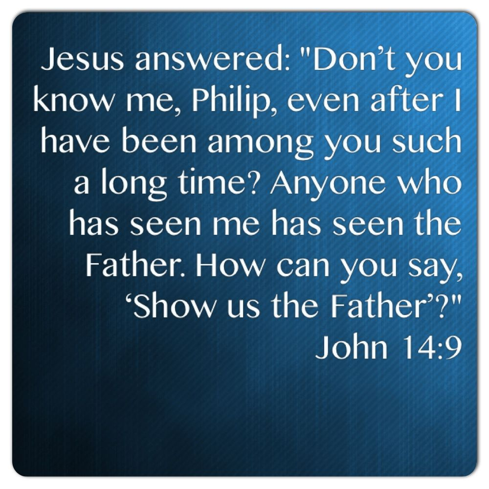 John 14:9 - The incredible claims of Jesus about his id… | Matthew ...