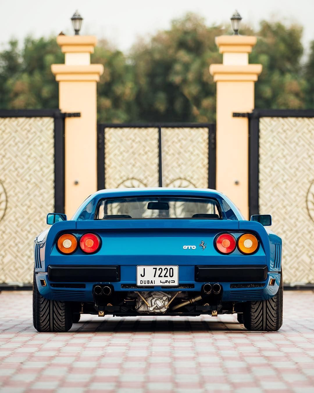 For Me The Best Angle Of The 288 Gto Azzurrodino Ferrari