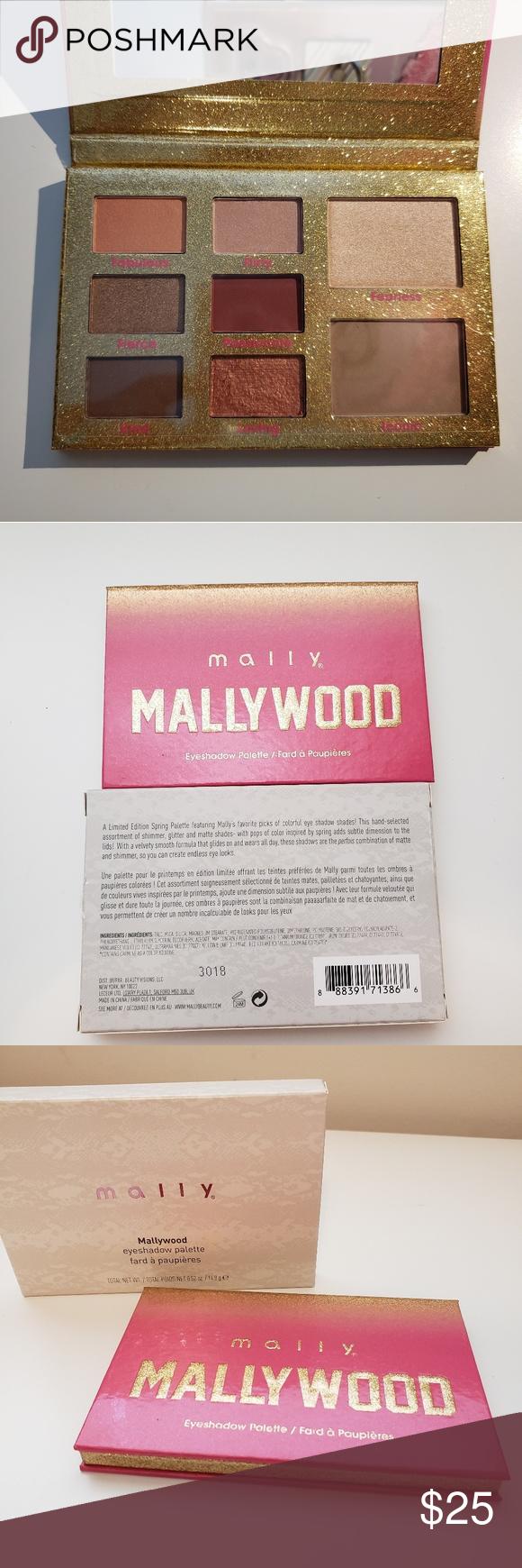 Mally Mallywood Eyeshadow Palette NWT Eyeshadow