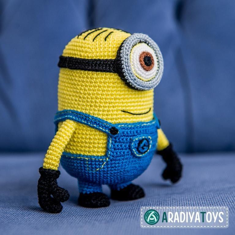 Outstanding Minions Crochet Pattern Composition - Easy Scarf ...