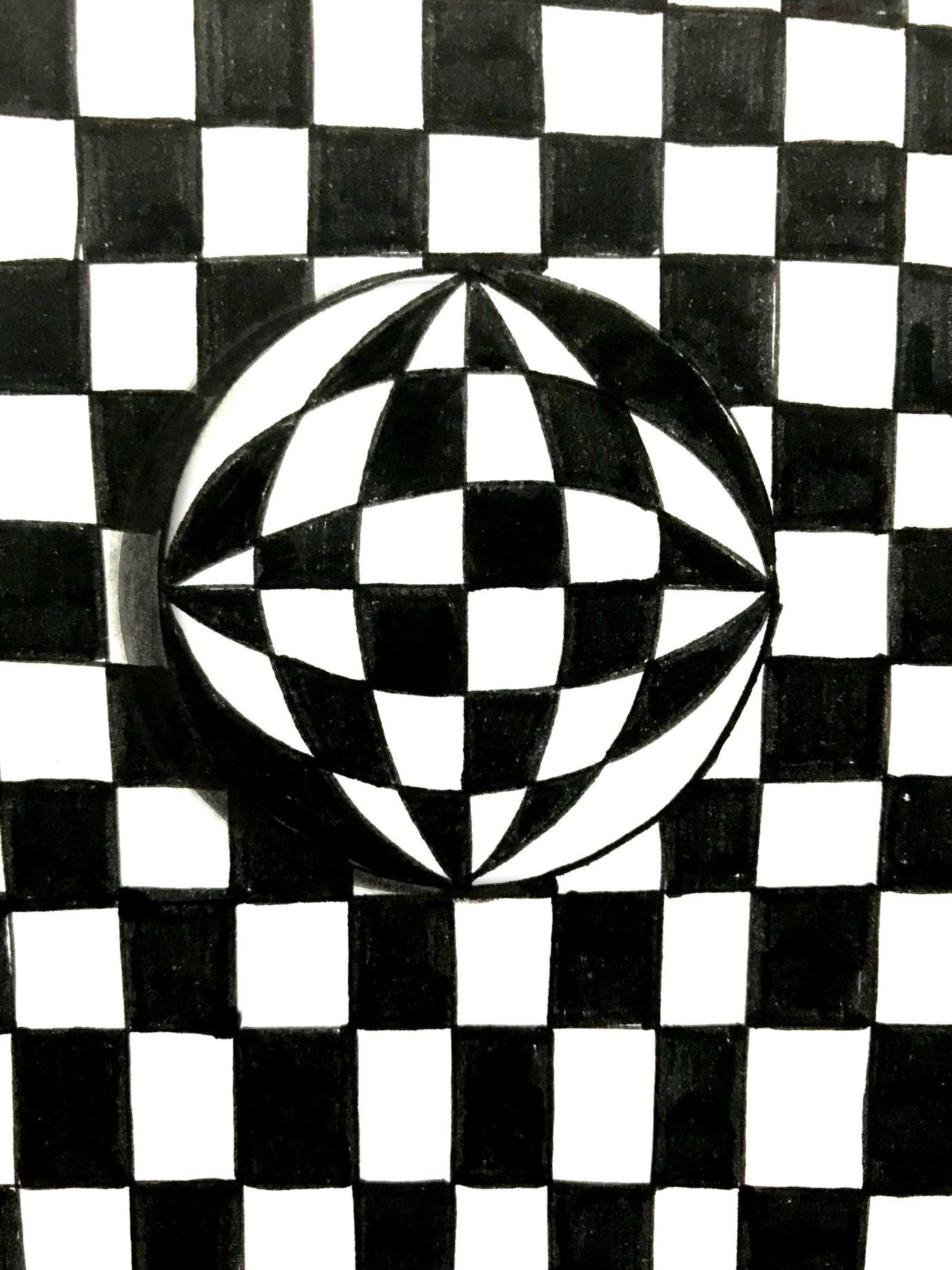 Effetti ottici con il disegno Disegni, Arte, Illusioni