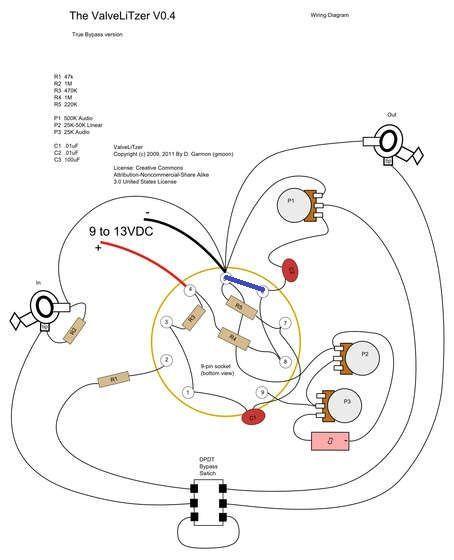 Diy Clean Boost Pedal Wiring Diagram