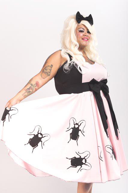Tracy's Roach Dress