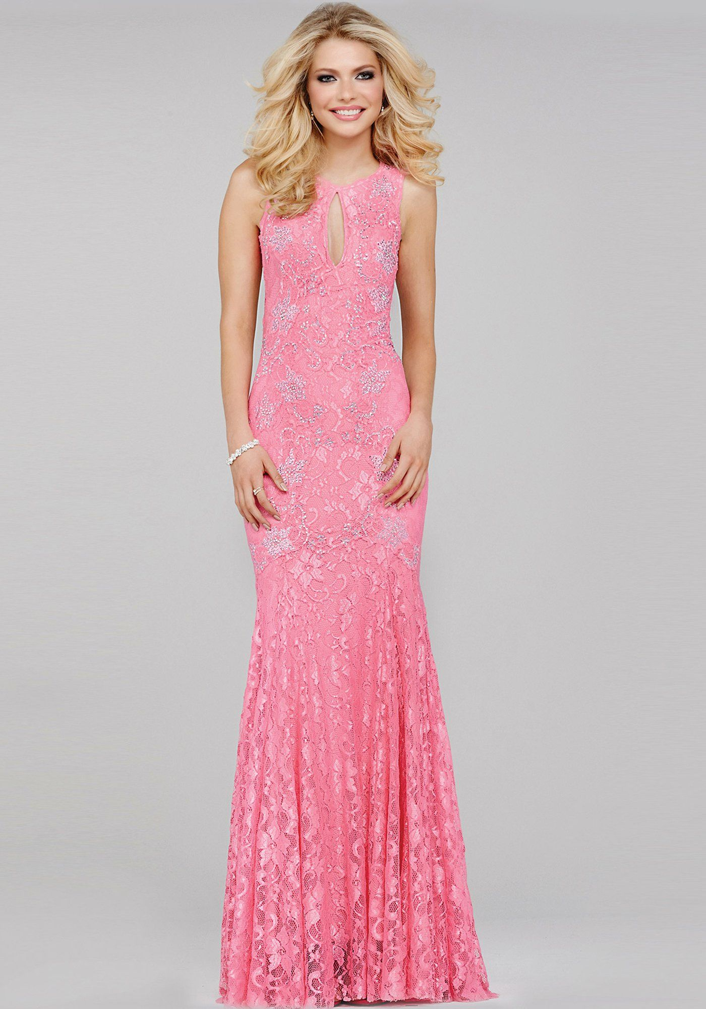 Pink Lace Prom Dress 35024 | Cool stuff to buy | Pinterest | Vestiditos