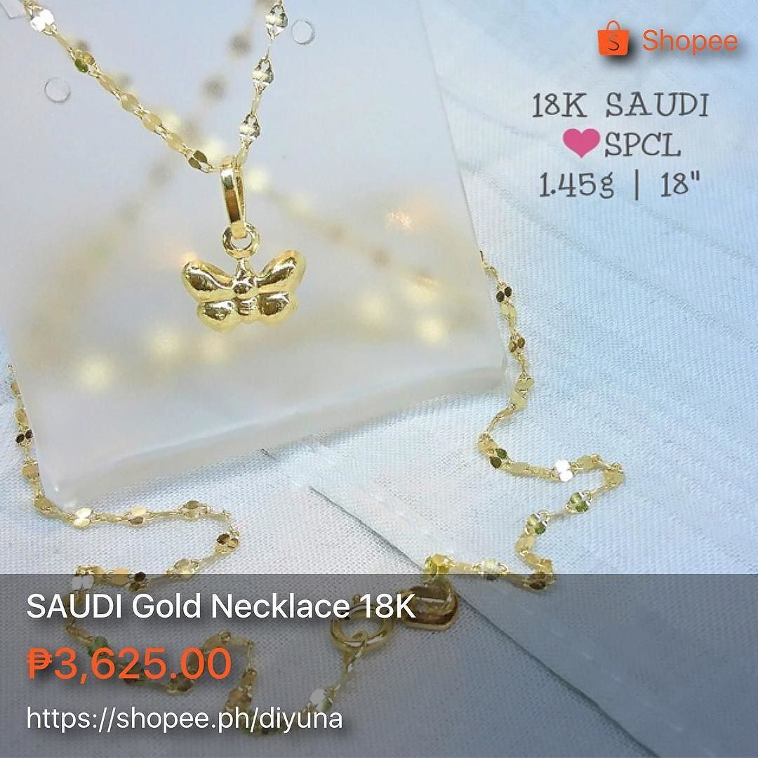 Special Saudi Gold Necklace 18k 18 Long 1 45 Grams Great Investment Pawnable Great For Gifts 18kgold 18k Womens Necklaces Jewelry Shop Simple Necklace