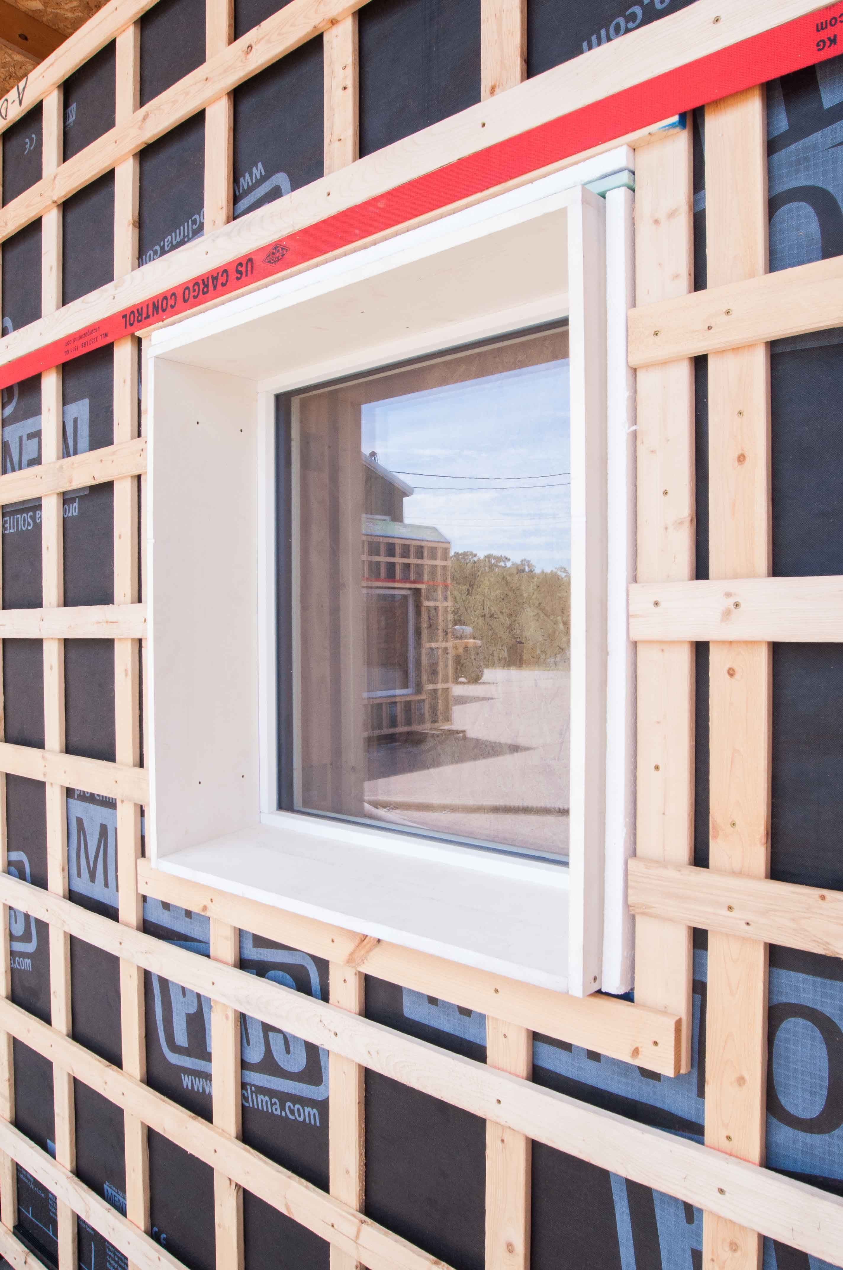 House wooden window design  Картинки по запросу passive house insulation  container haus