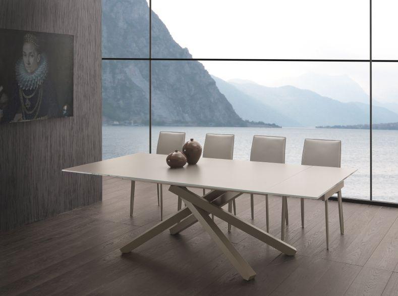 Tavolo Infinity Allungabile 657 tavoli cristallo allungabili ...
