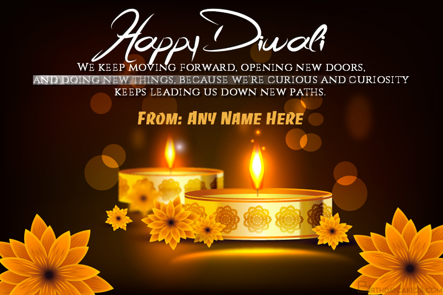 Free Download Happy Diwali Card With Name Edit Diwali Wishes With Name Diwali Cards Happy Diwali