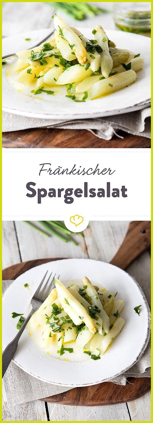 Fränkischer Spargelsalat – der Klassiker #Der #Fitness food przepisy #Fitness food veggie #Fränkisch...