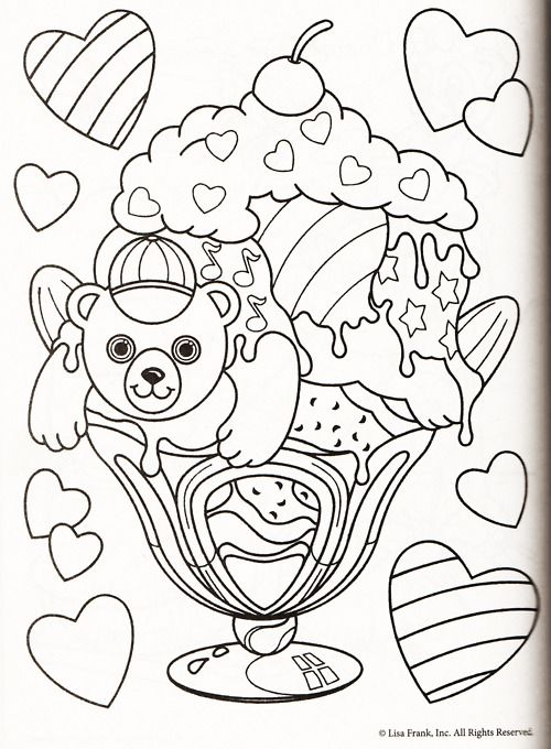 lisa frank coloring page | coloring pages of epicness | pinterest - Lisa Frank Coloring Pages Unicorn