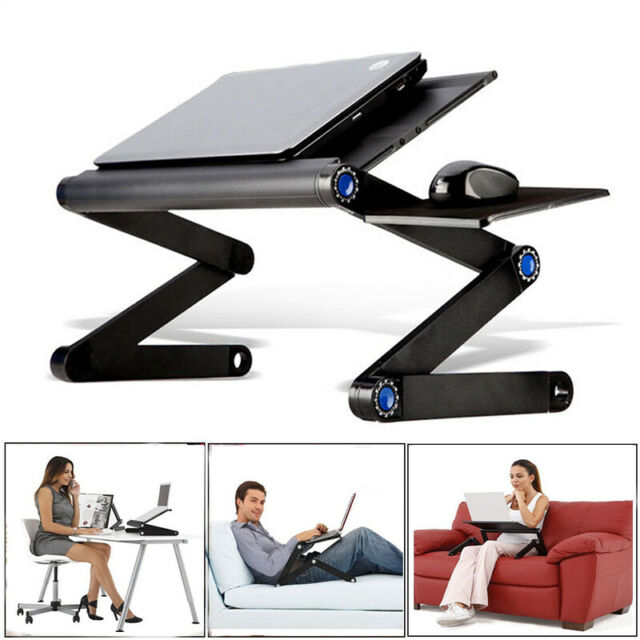 Table De Lit Ordinateur Portable Pliable Multi Fonction Pour Bureau Tablette Pc Ebay Table De Lit Ordinateur Portable Tablette Pc