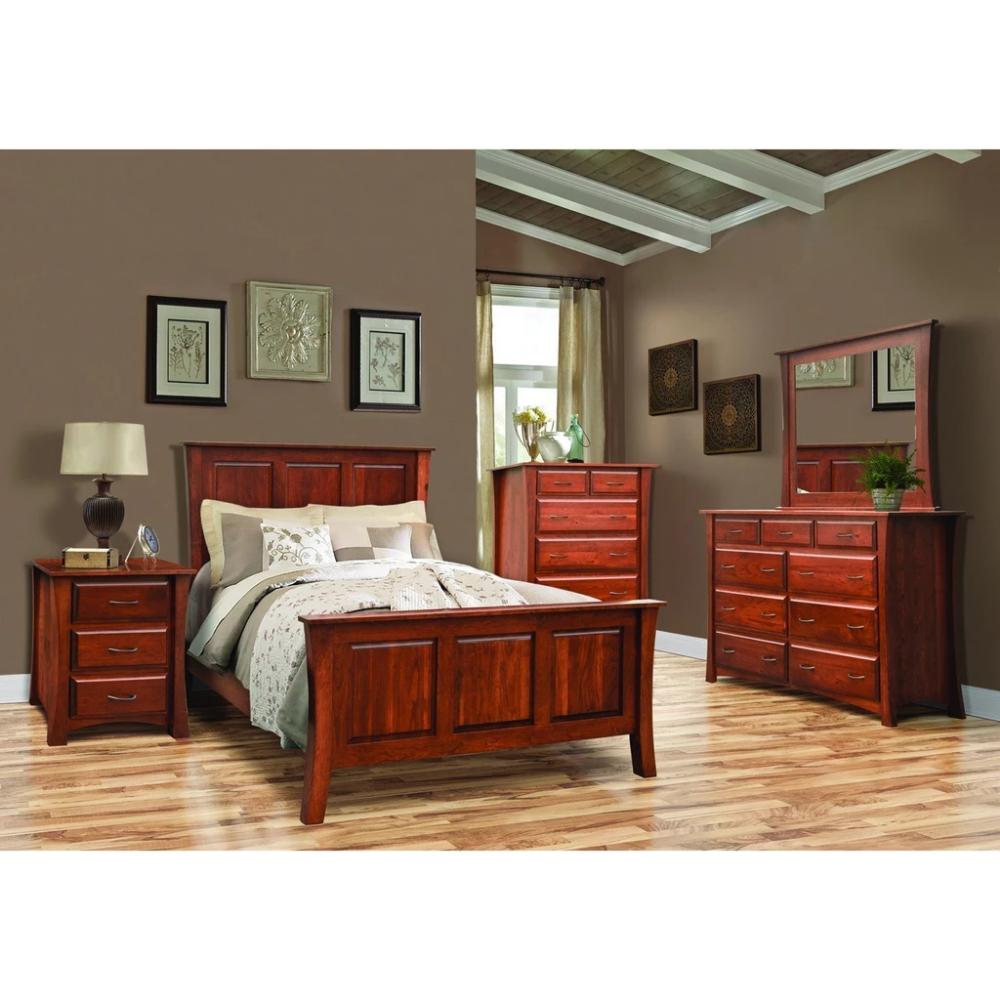 QW Amish Cove 8pc Set - Quality Woods Furniture  Furniture