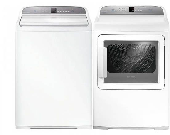 Fisher paykel fp2pctl27gwkit2 2piece laundry pair top load washer fisher paykel fp2pctl27gwkit2 2piece laundry pair top load washer abd gas dryer fandeluxe Image collections