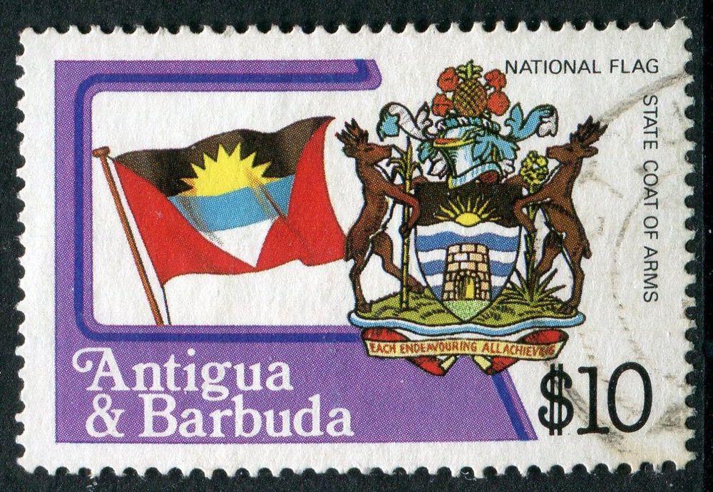 In Stamps British Colonies Territories Antigua Barbuda