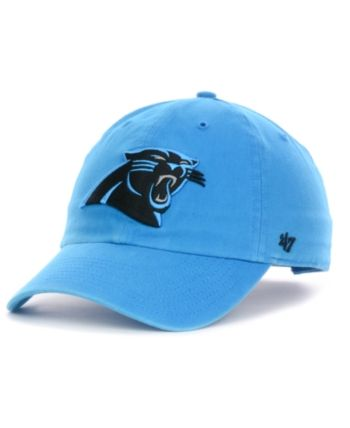 47 Brand Carolina Panthers Clean Up Cap - Blue Adjustable in 2019 ... a010a6c86