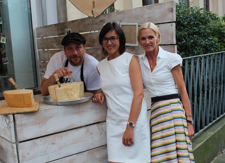 Parmiggiano Reggiano - das geht nie aus in meinem Kühlschrank!