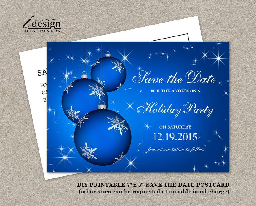 Christmas Party Save The Date Cards.Pin On Christmas And Holiday Party Save The Date