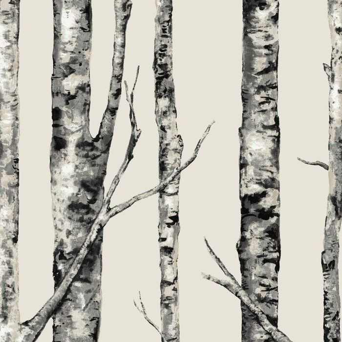 "Urban Retreat 27' x 27"" The Birches Wallpaper Roll"