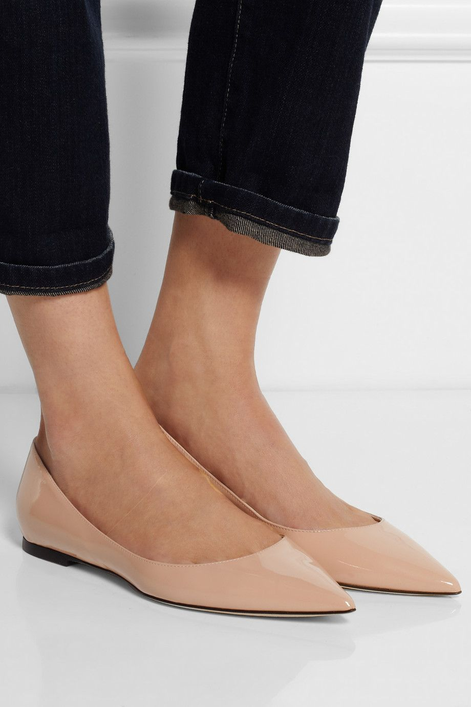 Alina ballerina shoes - Nude & Neutrals Jimmy Choo London MClX1