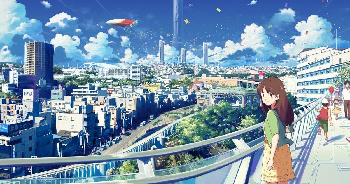 Anime Scenery City Unique Anime City Wallpaper Download Download 1366x768 Anime Landscape Anime Garden Sunshi In 2020 Anime Scenery Wallpaper Anime Scenery Anime City