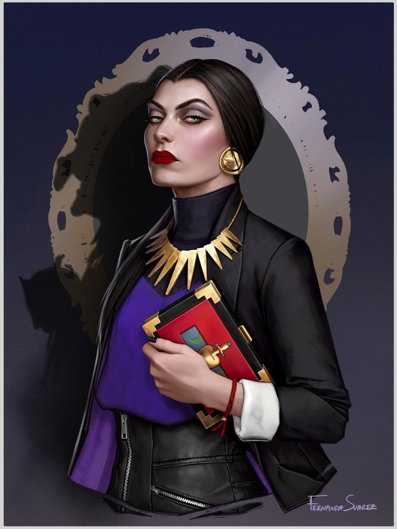 Evil Queen by fdasuarez on DeviantArt