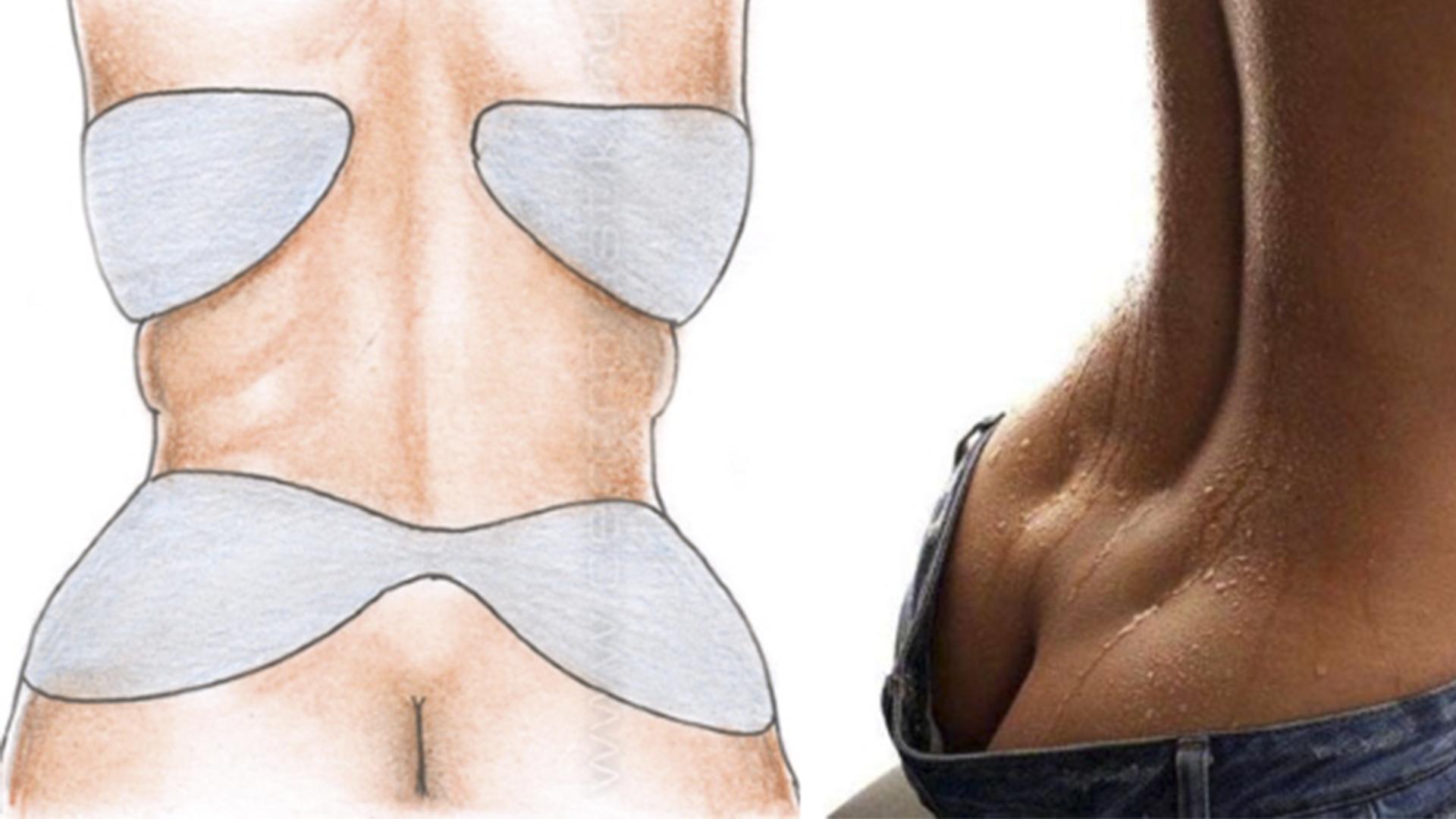 Сжечь Жир На Спине И Боках. 7 советов как убрать жир со спины для девушек и женщин не выходя из дома
