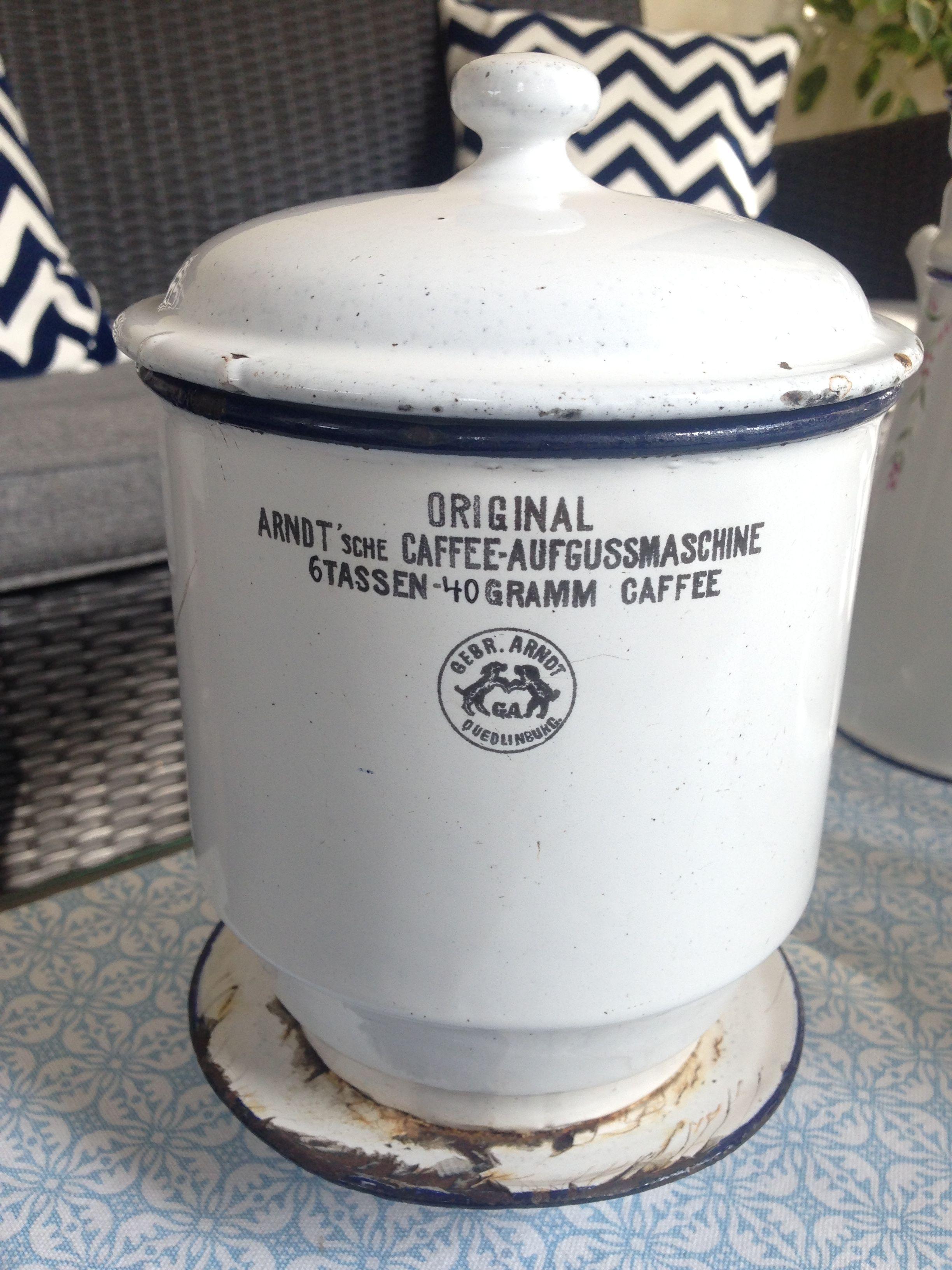vintage coffeemaker original arndt 39 sche kaffeemaschine made in germany e steiner collection. Black Bedroom Furniture Sets. Home Design Ideas