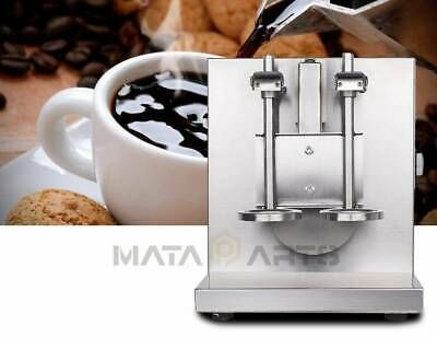 Double-cup Bubble Boba Milk Tea Shaker Shaking Machine Mixer Auto Control Cream
