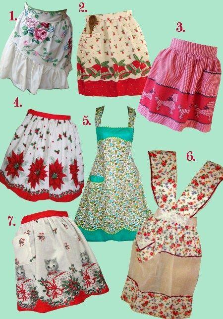 @Amy Lyons Lyons Hinkle.....vintage aprons