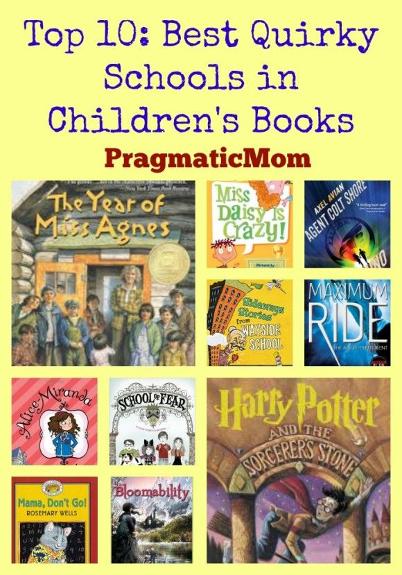 Top 10: Best Quirky Schools in Children's Books | Picture books ...