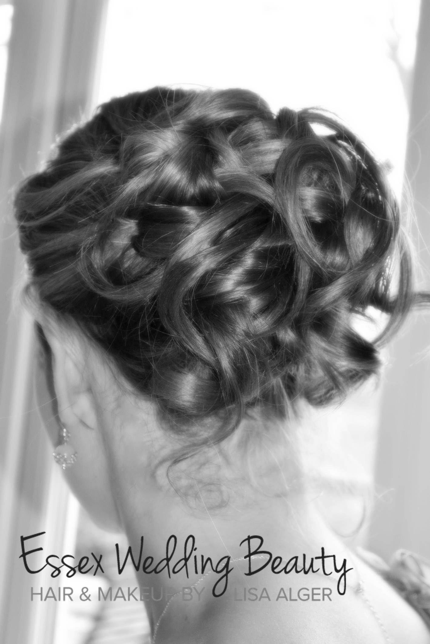 wedding hair up do by essex wedding beauty www