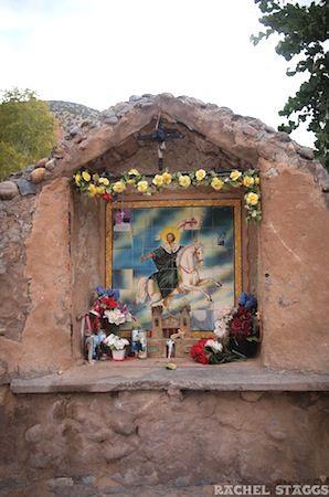 saint shrine outdoor | El Santuario de Chimayo Shrine, Chimayo, New Mexico
