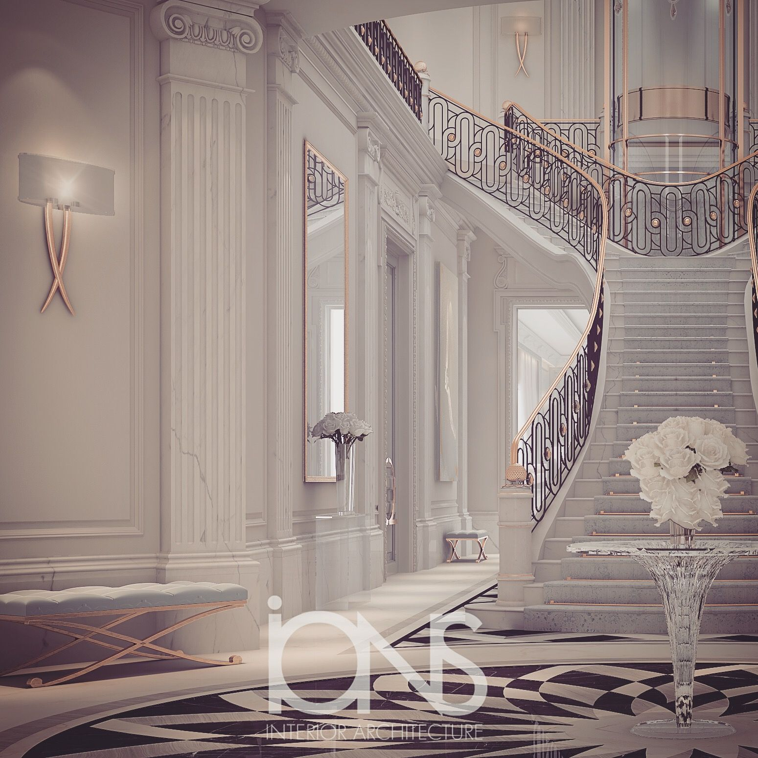 Luxury Entrance Lobby Design