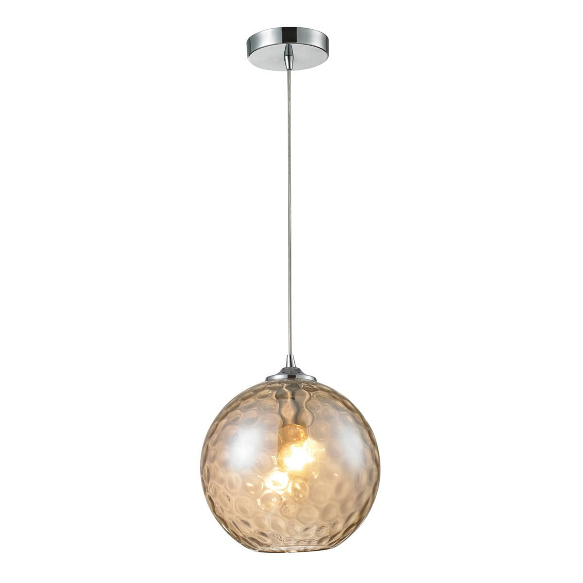 dimple glass pendant light 2 colors