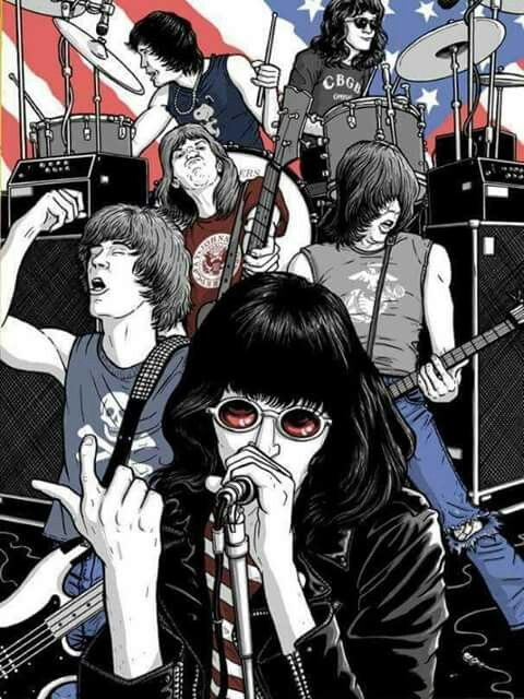 The Ramones Carteles De Rock Carteles De Banda Imagenes Rockeras