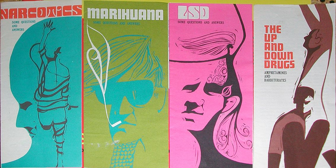 Vintage Drug Brochures Great Art   Propaganda