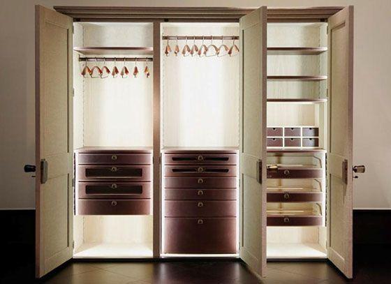 Cabina Armadio Nel York : Promemoria showroom new york closets