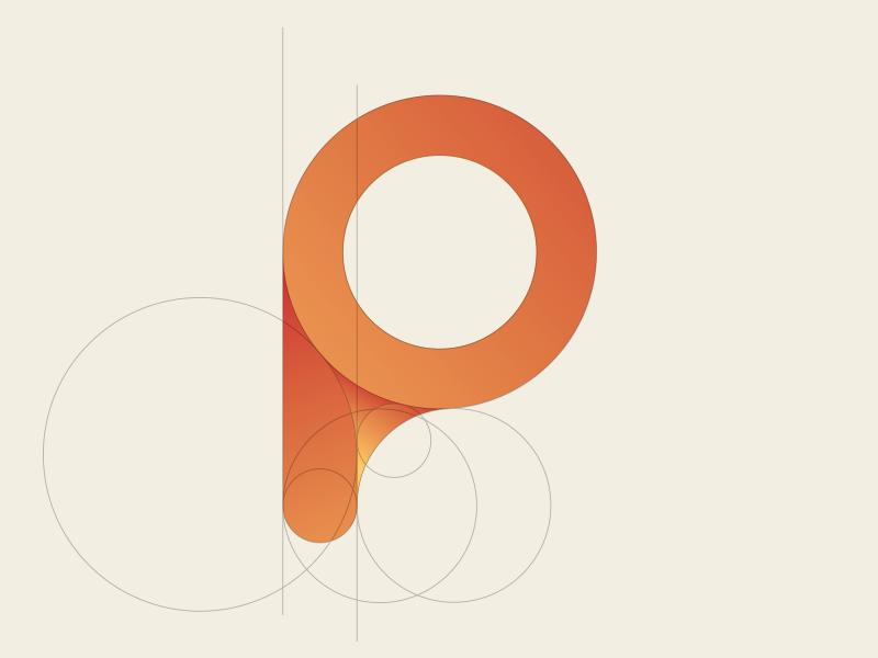 P Logo Concept Logo Concept Circle Logo Design Logo Design
