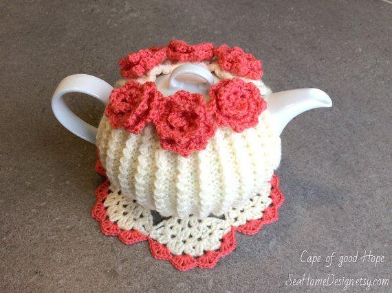 Teewärmer Teekannenwärmer Teekanne Deckchen Bezug Gestrickte