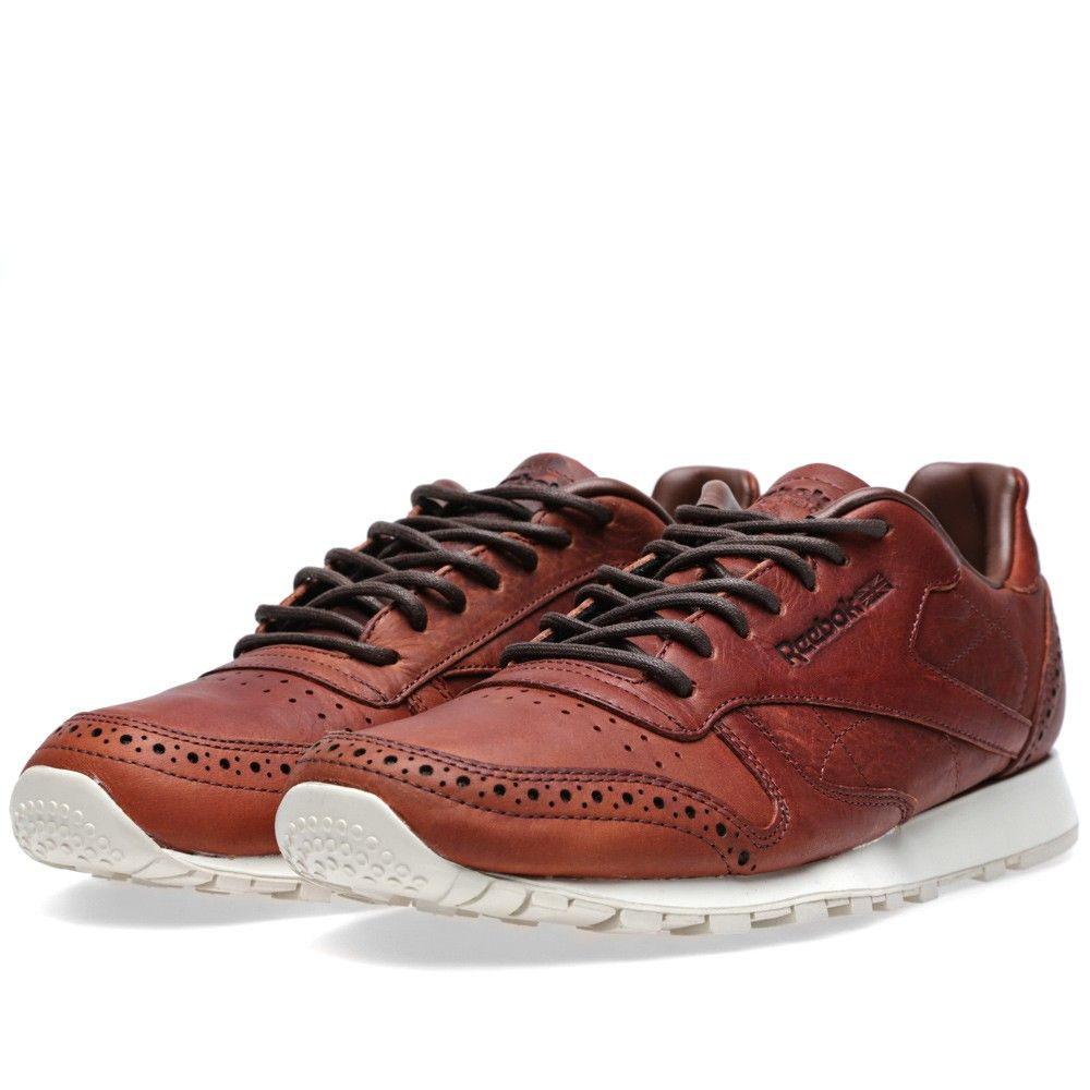 Reebok Classic Leather LUX CF Stead | Mens fashion casual