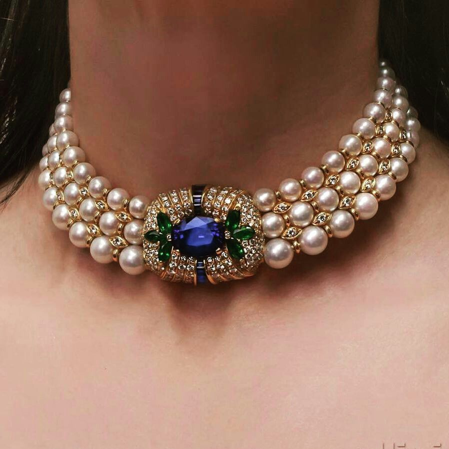 57bd6082ac Choker #pearl | ☆NECKLACE☆ in 2019 | Gold jewelry, Jewelry, Gold ...