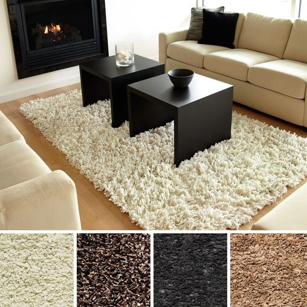 room wishlist medium sized modern shag rug in grey or