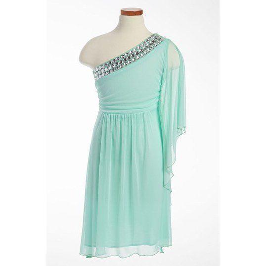 Ruby Rox Rhinestone Dress (Big Girls)   Nordstrom ($56)