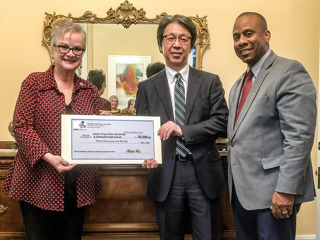 APSU, CMCSS receive a 30,000 grant from The Japan