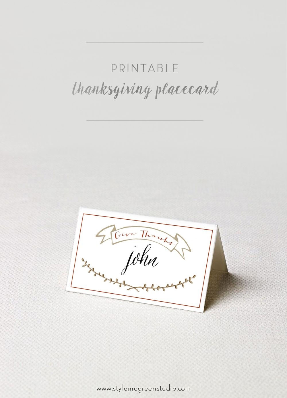 Thanksgiving Place Cards Free Printable Style Me Green Thanksgiving Place Cards Thanksgiving Name Cards Printable Place Cards