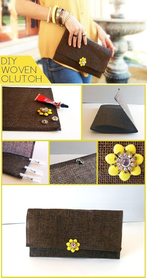Comment se faire une pochette partir d 39 un set de table avec ou sans couture source bolsos - Comment faire une table de craft ...