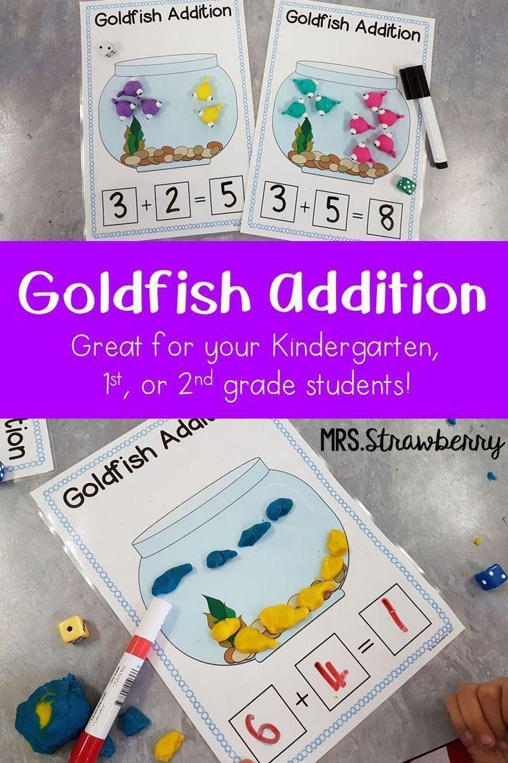 Goldfish Addition Activity Addition activities
