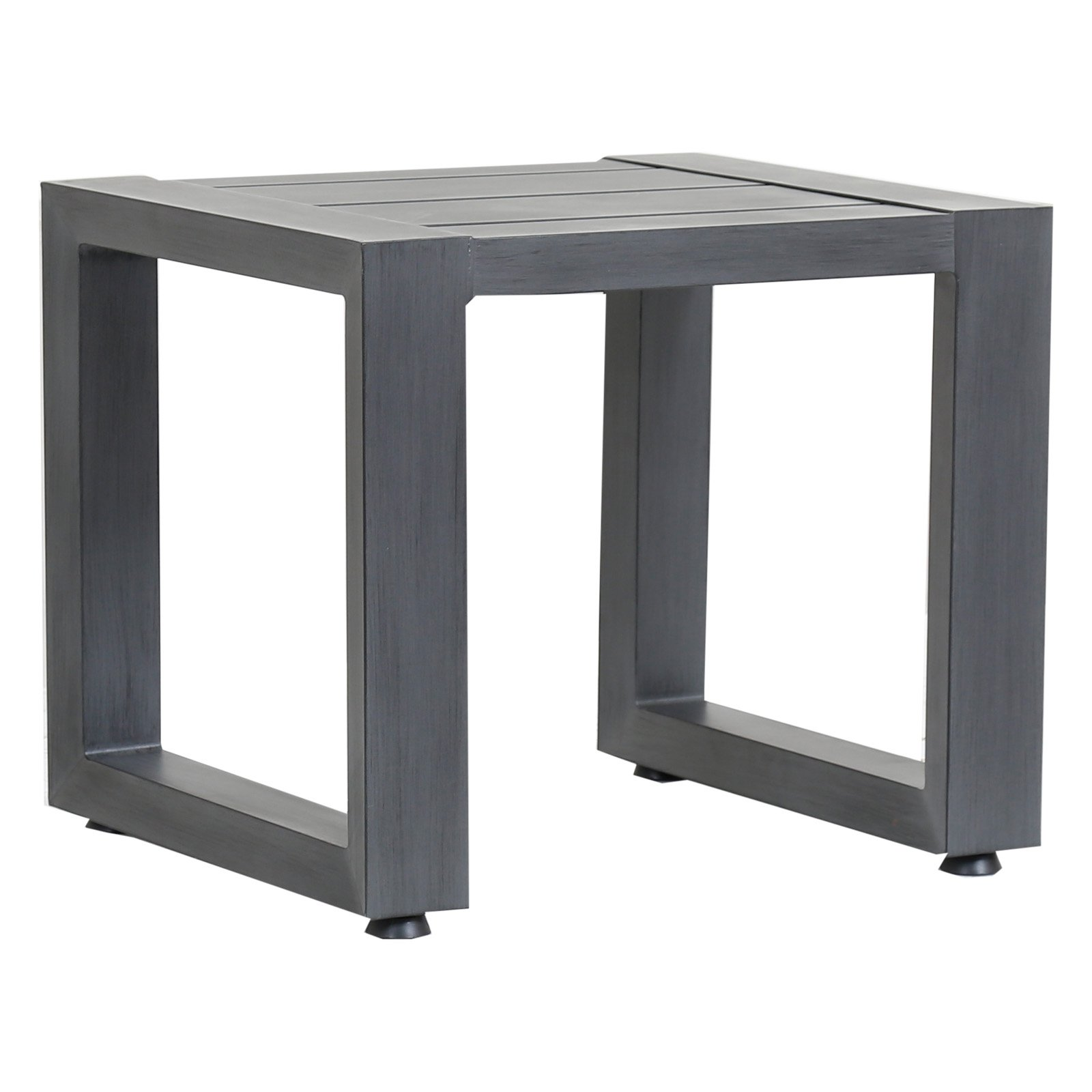 Outdoor Sunset West Redondo Aluminum Patio End Table ...